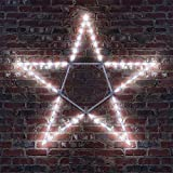 Outdoor Lighted Star Amazon new christmas lighted star indoor or outdoor home and 32 led folding star decoration 50 cool white lights workwithnaturefo