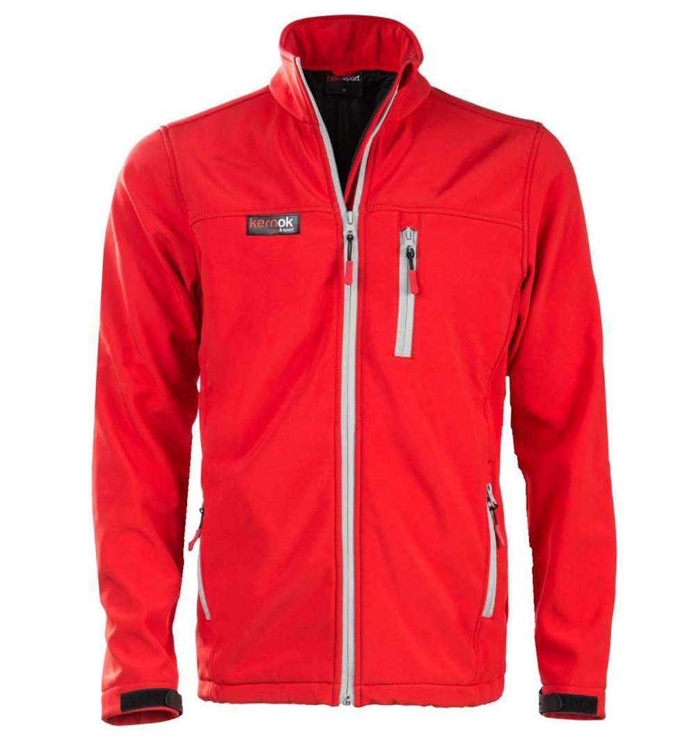 Chaqueta Calefactable Soft Shell Chico Roja (XXL): Amazon.es ...