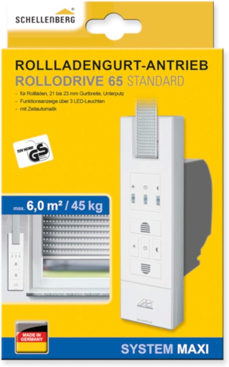 Schellenberg 22765 Rollodrive 65 Enrollador de persiana