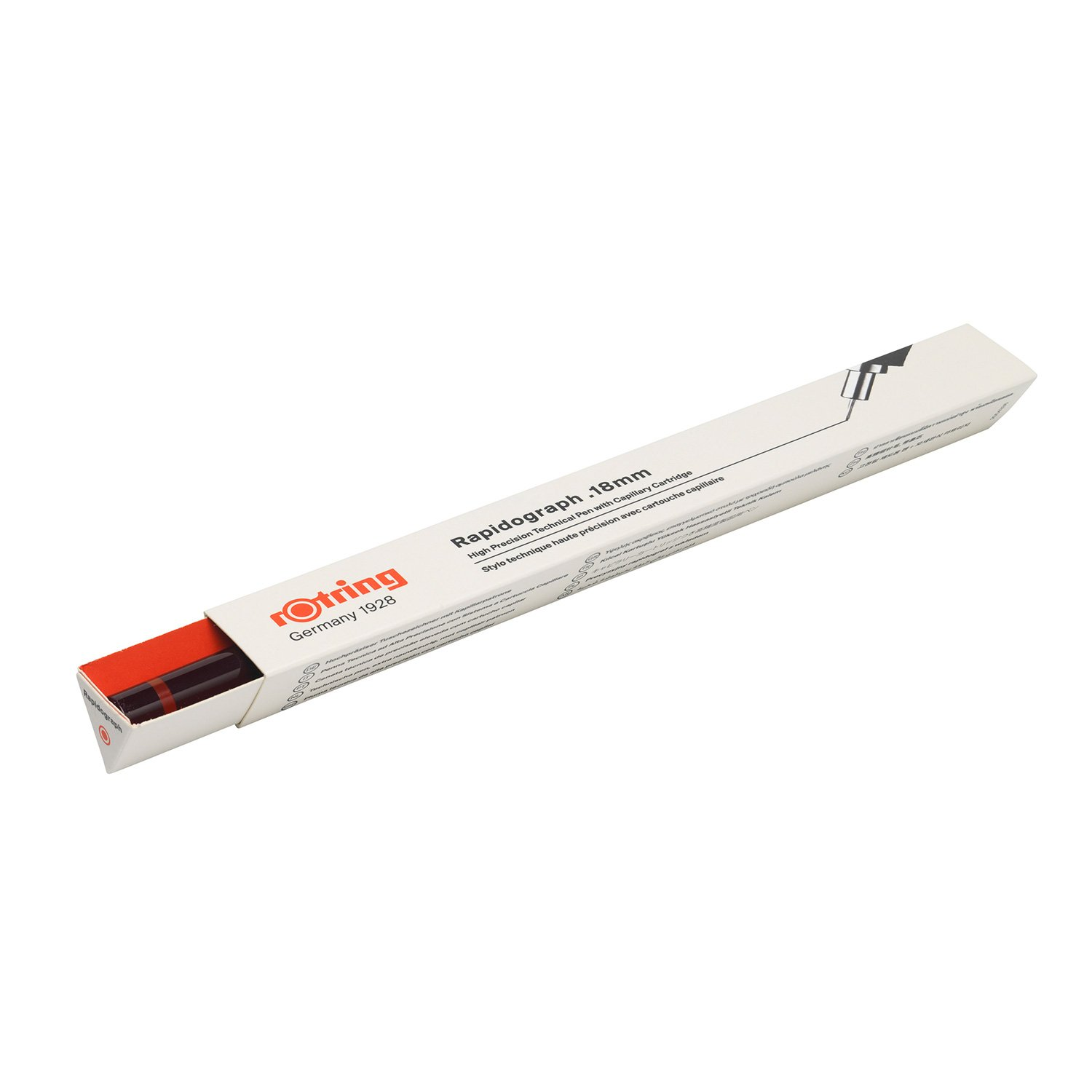 Rotring Rapidograph 0.18mm Technical Drawing Pen (S0203150) by Rotring (Image #6)