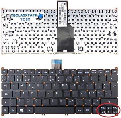 Teclado para Acer Aspire V3-571G EN ESPA/ÑOL Nuevo Negro SIN Marco