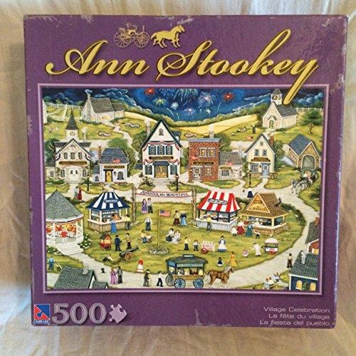 village-celebration-by-ann-stookey-500-piece-jigsaw-puzzle