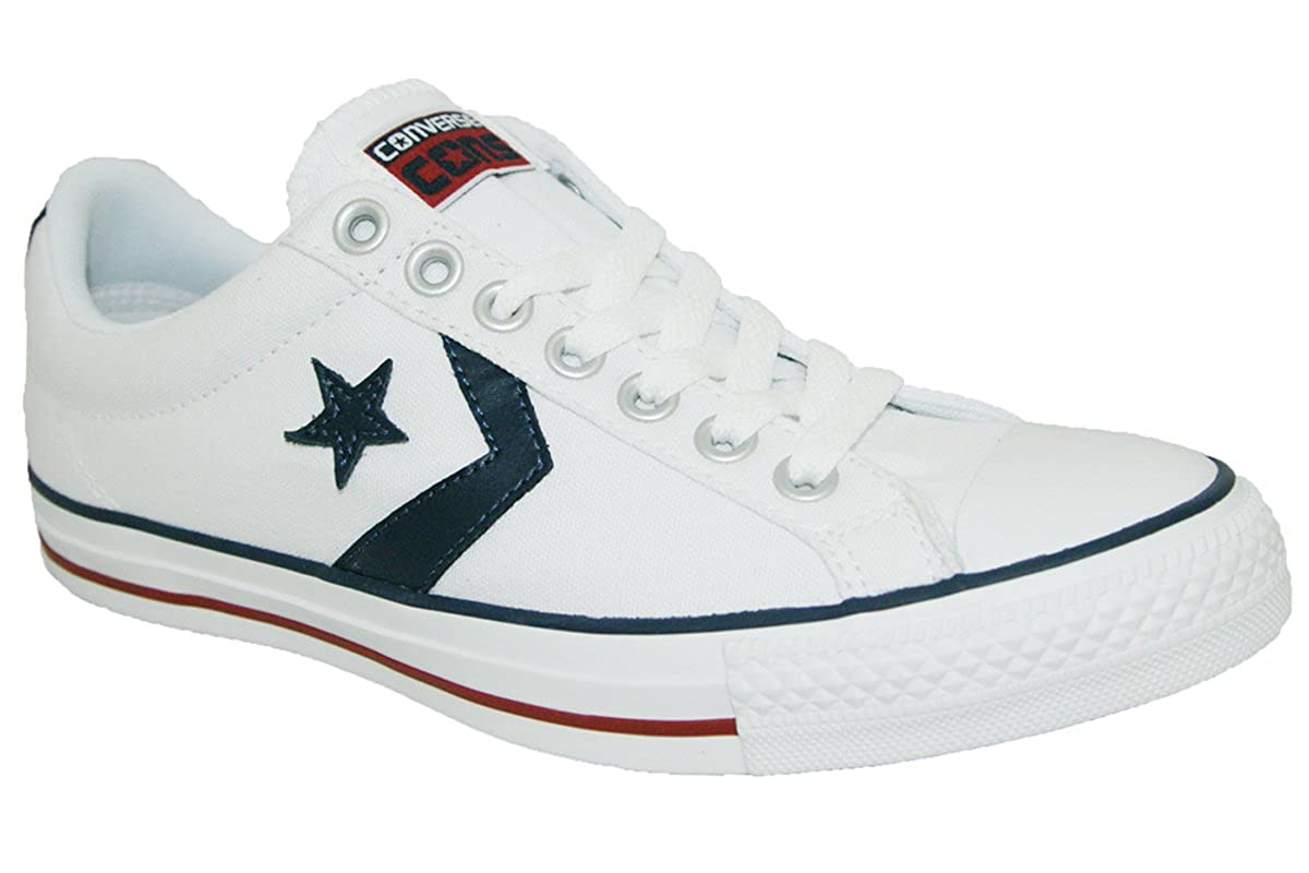Converse Zapatillas Star Player Ev Blanco EU 41.5: Amazon.es: Zapatos y complementos