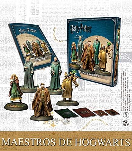 Knight Models Juego de Mesa - Miniaturas Resina Harry Potter Muñecos Master of Hogwarts - Box Español: Amazon.es: Juguetes y juegos