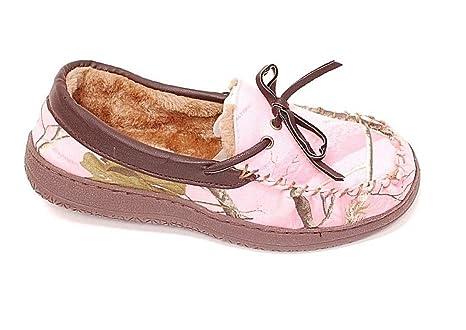 e6784defb09d7 Amazon.com: Itasca Women's Sportsman Pink Slipper Size 6: Sports ...
