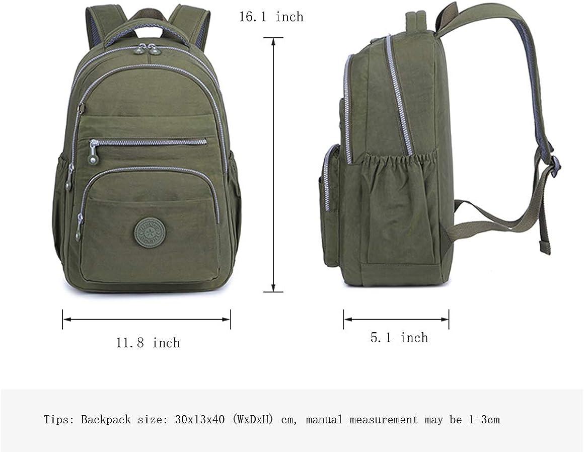Nylon Casual Daypacks Lightweight Waterproof Laptop Backpack