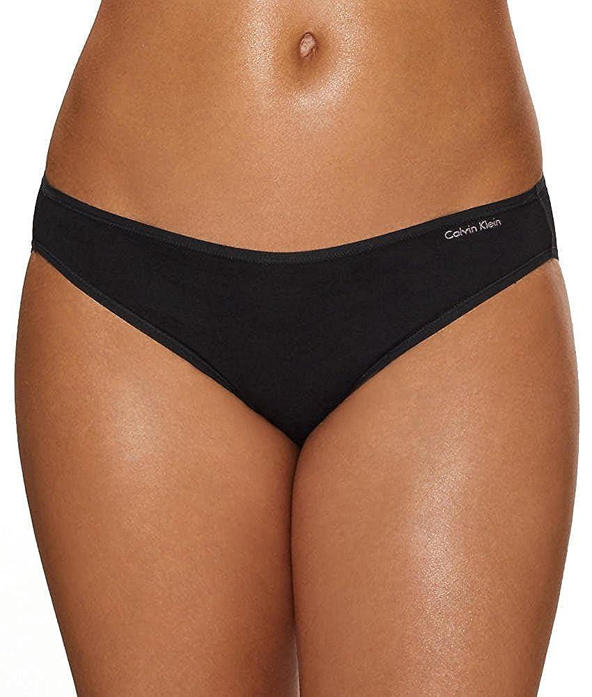 Calvin Klein Women's Cotton Blended Bikini Panty QD3644G