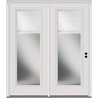 Superbe National Door Company Z001651L Steel, Primed, Left Hand In Swing, Center  Hinged