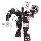 KKmoon 電動ロボット 子供 おもちゃ 15自由度 二足 歩行レースウォーキングロボット 二足歩行ロボットdiyキット 二足歩行ヒューマノイドキット 科学キット ヒューマノイド玩具 誕生日 子供の日 クリスマスプレゼント
