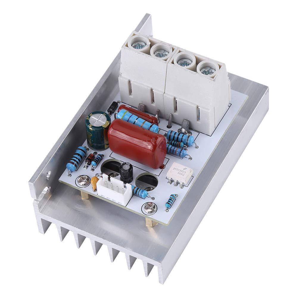 BIlinli SCR R/égulateur de Tension AC 220 V 10000 W Moteur /électrique Contr/ôle de la Vitesse Gradateur Thermostat Module Kit dassortiment /électronique