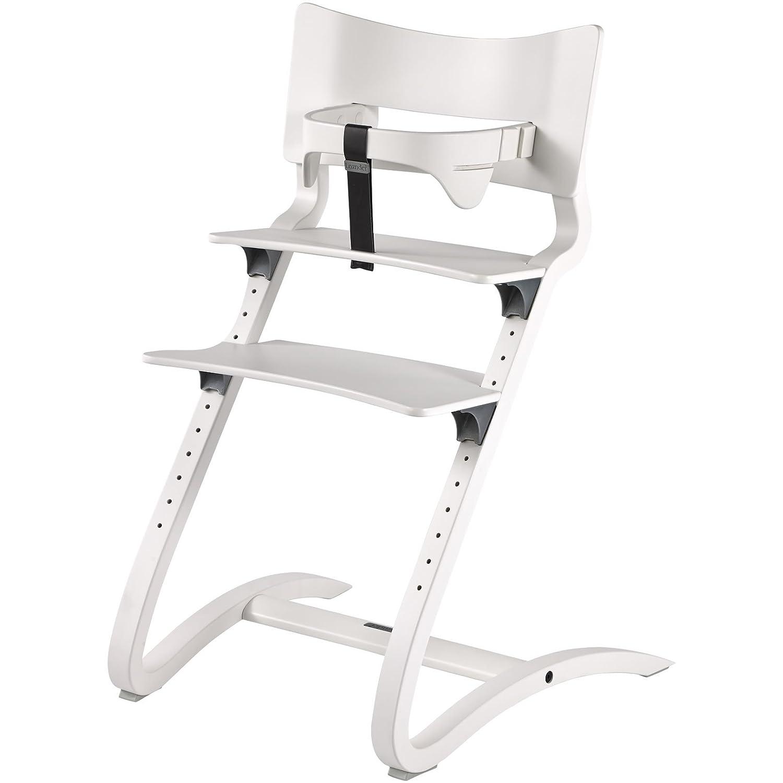 Acci/ón Leander Trona de color blanco RAL 9016/con estribo de seguridad y coj/ín en libre Selector de color gris carb/ón