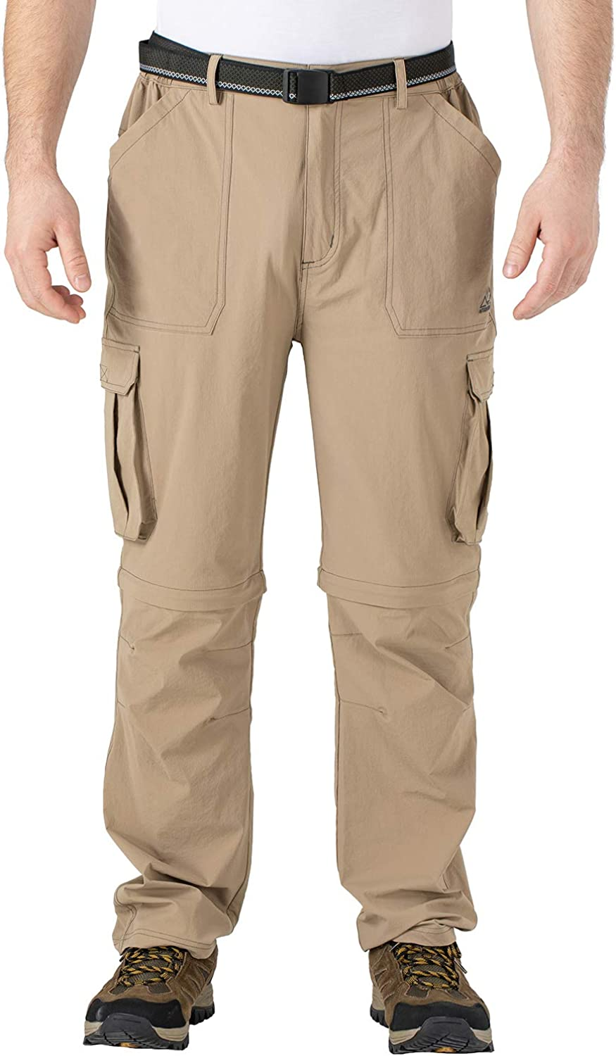 TBMPOY Mens Waterproof Hiking Pants Lightweight Fishing Military Outdoor Travel Pants with Pockets