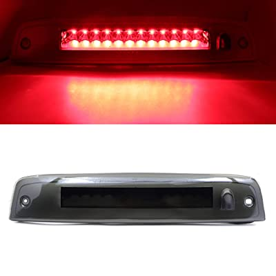 High Mount Stop Light Assembly 3rd Third Brake Light Fit For 2002-2010 Ford Explorer 2008-2012 Ford Escape (Smoke): Automotive
