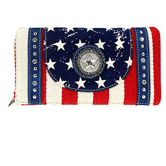 Amazon.com: Montana West - Cartera plegable para mujer, con ...