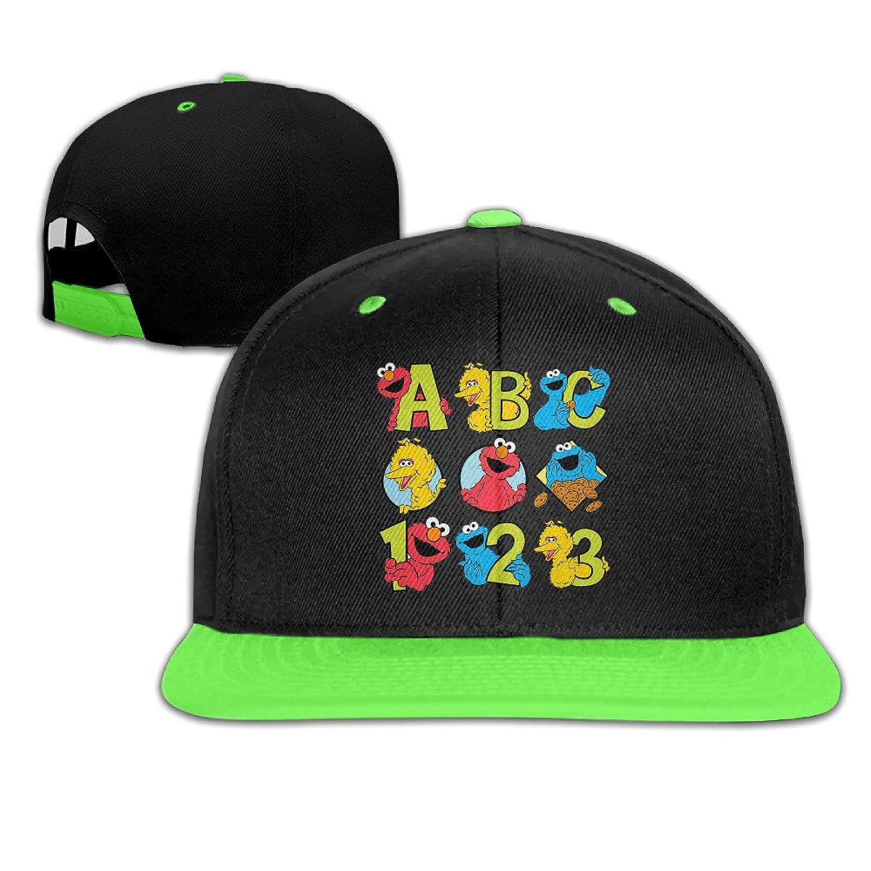 Elmo Seasame Street3 Custom Boy Girl Children Hip-hop Baseball Cap 100% Cotton Comfortable Lovely