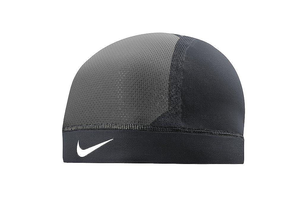 f5f759d097c27 Amazon.com  Nike Pro Combat Hypercool Vapor Skull Cap 3.0  (Black Anthracite White)  Clothing