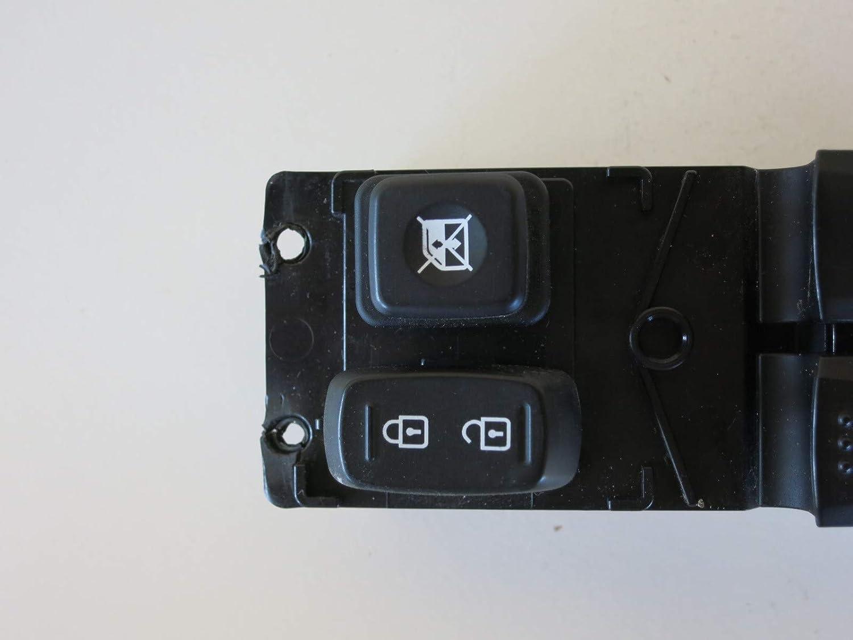Genuine Hyundai 93570-2V010-4X Power Window Main Switch Assembly