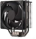 Cooler Master Hyper 212 svart utgåva CPU kylsystem – tyst, elegant och exakt, 4 kontinuerlig direkt kontakt…
