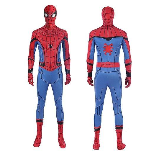 WOLJW Spider Man Cosplay Niños de Regreso a casa lejos de casa ...