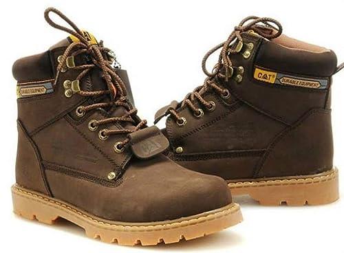 Botines con Cordones de Martin Vintage con Cordones de Trabajo para Hombre: Amazon.es: Zapatos y complementos