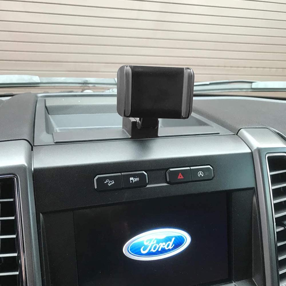 ITrims Phone Holder for Ford F-150 F150 2015-2019 Car Vents Holds Mount for Ford F-150,Car Phone Mount for iPhone 8 for iPhone X,Smartphone for Ford F-150 Air Vent Phone Holder