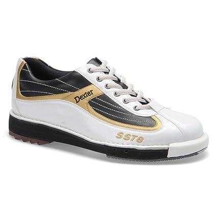 2373675f6e Buy Dexter Bowling Shoes White Black Gold