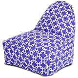 Majestic Home Goods Purple Links Kick-It Chair