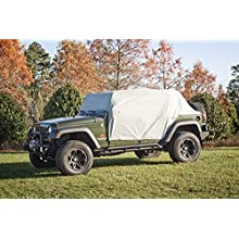 Rugged Ridge 13318.10 Weather Lite Cab Cover, Wrangler Unlimited JK