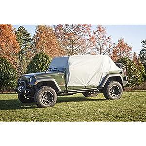 Rugged Ridge 13318.10 Weather Lite Cab Cover, Wrangler Unlimited JK