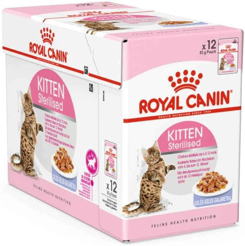 Royal Feline Kitten Sterilised Pouch Gelatina 85Gr 80 g