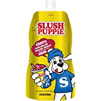 SLUSH PUPPiE 8 fl oz Pouches, Cherry, 12 Count