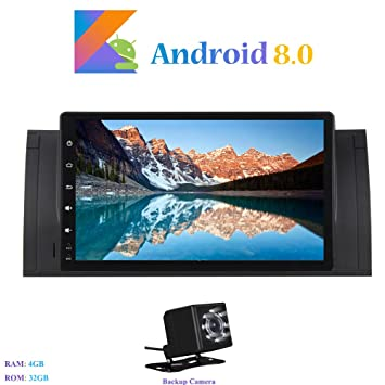 """Android 8.0 Autoradio, Hi-azul Radio de Coche 9"""" Navegación GPS De Coche"""