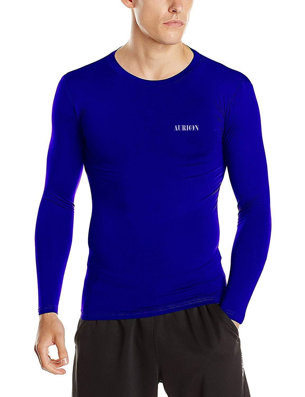 Aurion Inner-Lycra-RoyalBlue-(38) Synthetic Unisex Lycra Athletic Multi Sports Compression Top, Medium (Blue) (B07PK8271D) Amazon Price History, Amazon Price Tracker