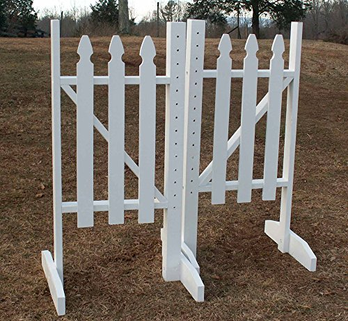 Picket Fence Wing Standards 6 Foot Light Green (Fence Picket Wings)