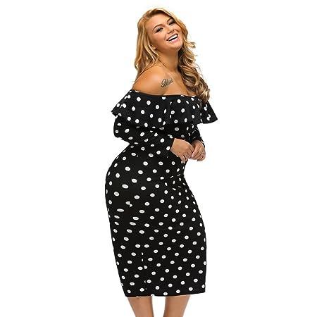 Vestido de mujer Vestidos de la mujer gorda manga larga con cremallera sin tirantes sin tirantes vestido de longitud media vestido sin tirantes del vestido ...