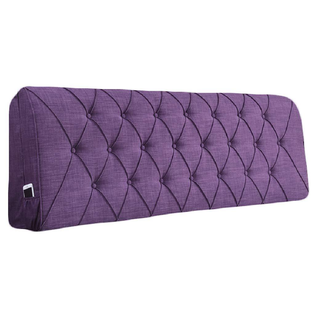 生まれのブランドで ベッドサイド B07RG8SGJG クッション用ヘッドボードベッドサイド背もたれ大型枕ソファ布張り腰パッド さいず、8サイズ、8色 (色 155x10x60cm : オレンジ, サイズ さいず : 160x10x60cm) B07RG8SGJG 155x10x60cm|紫の 紫の 155x10x60cm, 【おまけ付】:460de6a4 --- leadjob.us