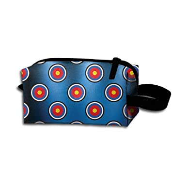 Image Unavailable. Image not available for. Color  Mortimer Gilbert Archery Target  Mens Ladies Travel Toiletry Organizer Bag 090e7eee92c6b