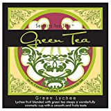 Serenity Tea Sips Green Lychee – 4 oz. loose leaf green tea with lychee fruit