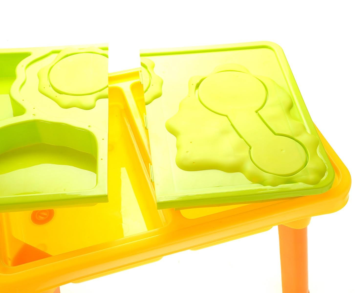 CHIMAERA Multi-Play 2-in-1 Sandbox / Sand and Water Table with Beach Playset by CHIMAERA (Image #1)