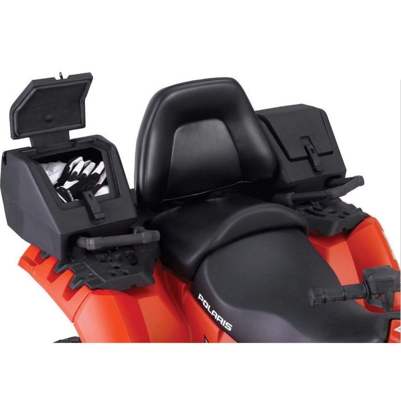 New Genuine Pure Polaris ATV Accessories / Polaris Sportsman Touring XP 550/850 Lock & Ride Rear Storage Boxes - pt# 2878000