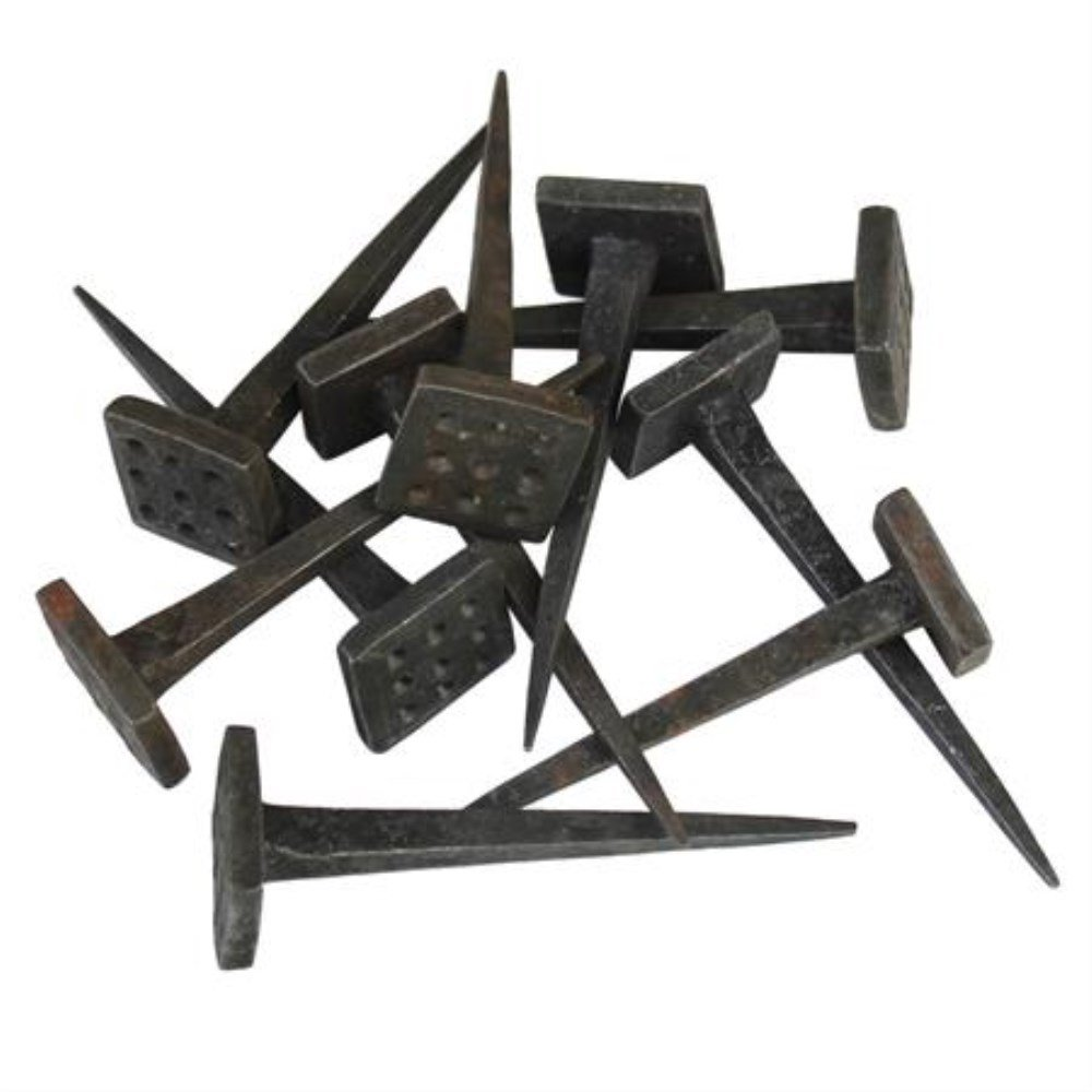 Hand Forged Medieval Iron Nails
