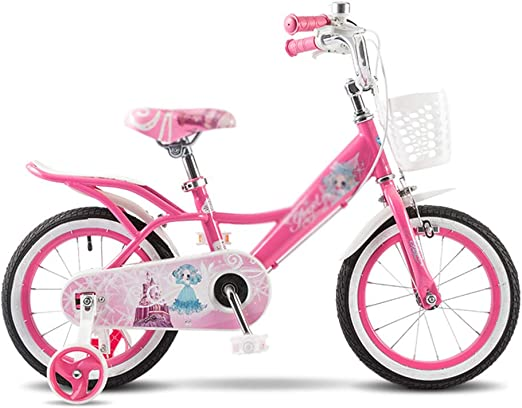 Bicicletas Infantil Montaña Chica Princesa Rosa Juguete para niños ...