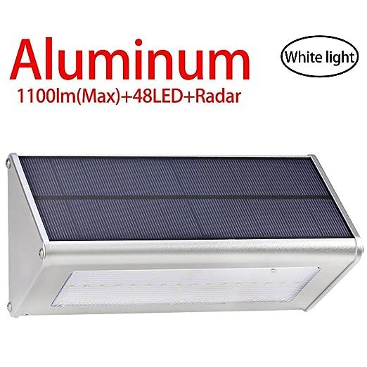 24 opinioni per Licwshi Luci solari 1100 Lumens(Max) esterna impermeabile lega di alluminio