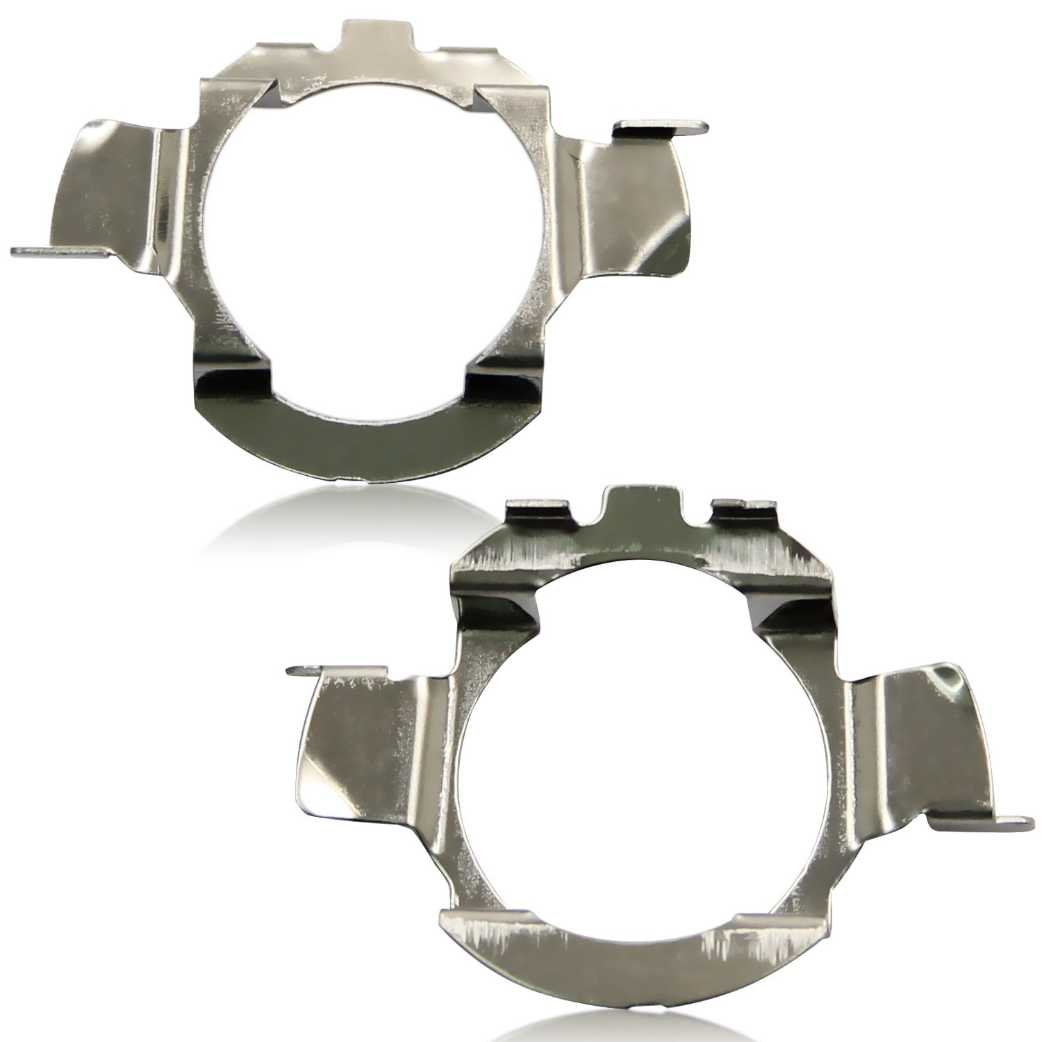 2 Pieces Win Power H7 LED Bulb Base Clips Adapter Holder Retainer Support Conversion Accessories
