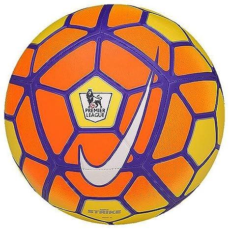Nike Strike - Pl - Balón Unisex, Color Amarillo/Naranja / Morado ...