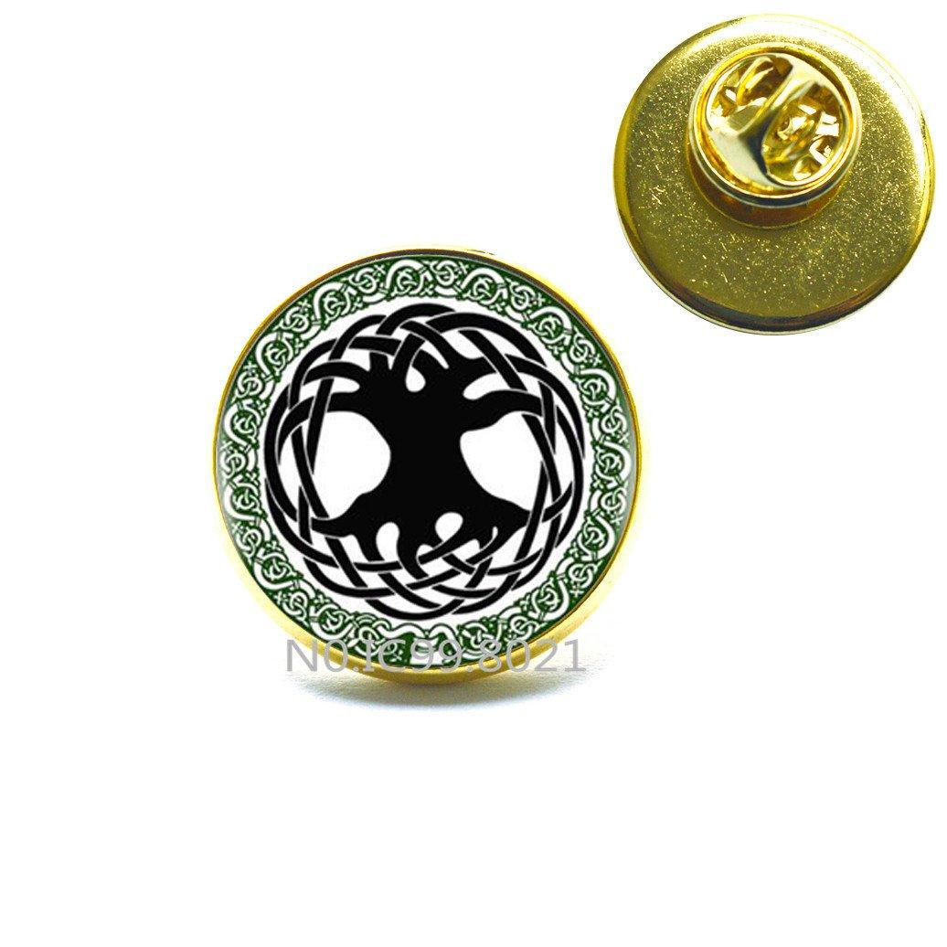 Triquetra Metal 20mm Lapel Pin