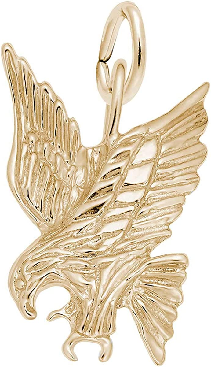 10K Yellow Gold Rembrandt Charms Swan Charm