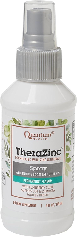 海外直送品 Quantum Research TheraZinc Spray, 4 FL Oz