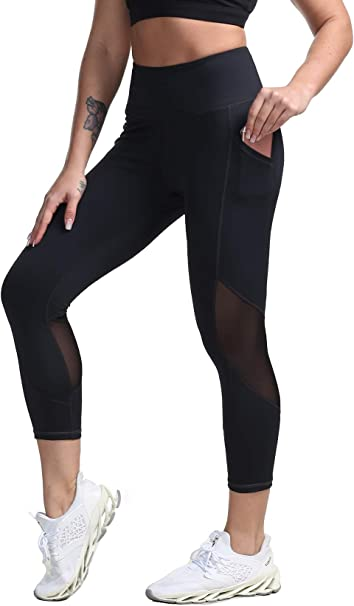 Amazon.com: DILANNI Leggings activos, leggings de cintura ...