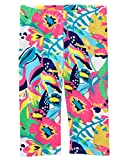 Crazy 8 Girls' Toddler Basic Legging, Graphic Multi Floral, 5T